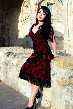 This Long Beach Colthing Store ~ Switchblade Stiletto Clothing | Rockabilly Clothing for Women ~ is owned by my niece who designs and makes the outfits!