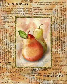 MI BAUL DEL DECOUPAGE: COCINA Pears