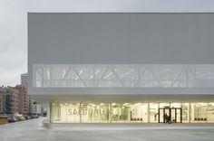 WAN Awards #Civic Buildings entry Salburua Civic Centre #Spain by IDOM © Aitor Ortiz