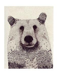 animals by Olga Gamynina, via Behance - Illustration Graphic Illustration, Graphic Art, Animal Illustrations, Bear Graphic, Animal Graphic, Kalender Design, Silkscreen, Bear Art, Art Graphique