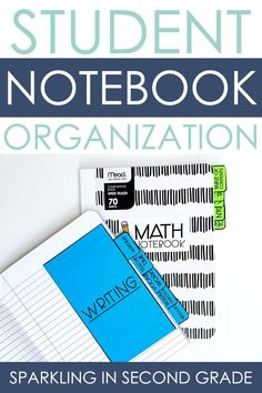 Student organization for notebooks. Editable notebook divider tabs and labels, customize to the needs of your classroom. Notebook Organization, Organization And Management, Classroom Organization, Notebook Dividers, Organization Ideas, Early Elementary Resources, Teacher Planner, Classroom Supplies, First Grade Classroom