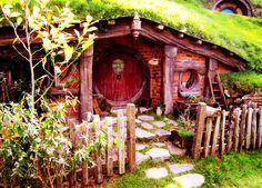 Hobbit door yard  :-)