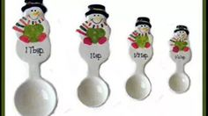ceramic measuring spoons - YouTube Measuring Spoons, Ceramics, Youtube, Ceramica, Pottery, Ceramic Art, Youtubers, Porcelain, Youtube Movies