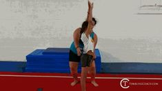 22 drills to help you master the standing back handspring in the fastest and most efficient manner without mental blocks! Gymnastics Lessons, Gymnastics Levels, Boys Gymnastics, Tumbling Gymnastics, Gymnastics Coaching, Cheer Stunts, Cheerleading, Back Handspring Drills, Flick Flack