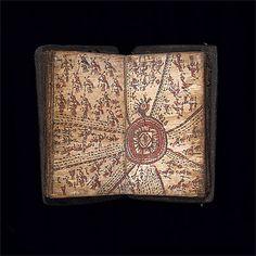 Divination book [pustaha laklak] 18th century  Toba Batak people  Sumatra, Indonesia