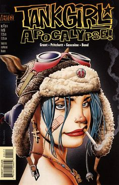 Tank Girl Apocalypse! art by Brian Bolland