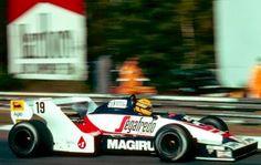 Blog Esportivo do Suíço: Primeiro carro de Senna na F-1 é colocado à venda
