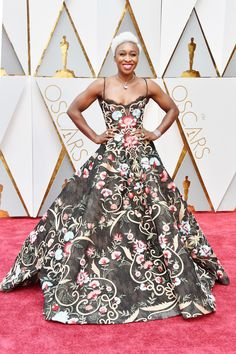 Black Women Hairstyles 2017 Oscars Red Carpet | CYNTHIA ERIVO