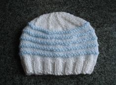 More cute hats ..... more stripes ..... for the boys this time!                             baby boy hats                  The k2, p2 ri...