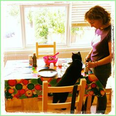 Tweedot blog magazine - Felix the black cat in London