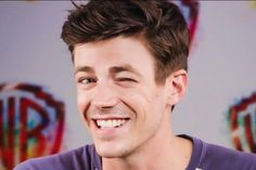 The cast of THE FLASH get candid about celebrity crushes, bossy behavior, and a surprising secret union at the Comic-Con 2017 Confessional booth. Grant Gusting, The Flash Season 3, Carrie Anne Moss, Flash Barry Allen, Meg Donnelly, The Flash Grant Gustin, Snowbarry, Fastest Man, Supergirl And Flash