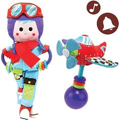 Baby Rattle And Plush Set - Musical Airplane And Pilot Play Set (3 mo+) Yookidoo http://www.amazon.com/dp/B00NNCX1IA/ref=cm_sw_r_pi_dp_htm5ub18N5N35