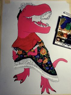 The Pinkie Project-FRIDA -work in progress