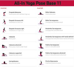 All-in Yoga pose base page 11