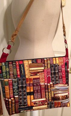 Adorable book book bag.  I want this so much!
