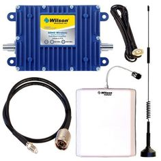 Wilson Electronics 841295 SOHO Ambulance and RV Cell Phone Booster Signal Amplifier Kit Wilson 801245 SOHO Dual-band Wireless Cellular Amplifier Repeater. Wilson 301104 Dual Band Cellular Antenna. Wilson 901102 NMO Antenna Mount. Wilson 301135 Antenna Panel. Wilson 951104 RG-58 Extension Cable.  #Wilson #Wireless