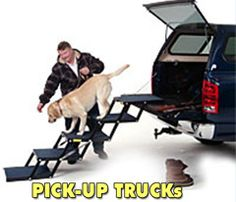 Dog Stairs for Pickup Trucks