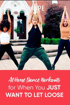 7 Dance Workout Videos You Can Do at Home Intense Cardio Workout, Cardio Workouts, Hiit, At Home Workouts, You Fitness, Health Fitness, Dance Workout Videos, Heart Pump, Sweat It Out