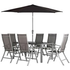 Buy Malibu 8 Seater Patio Set Express Delivery At Argos 640 x 480