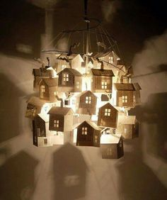 Love this as an idea for creating a small world onstage. Light is life.