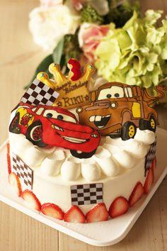 Cars Decoration Cake カーズのデコレーションケーキ
