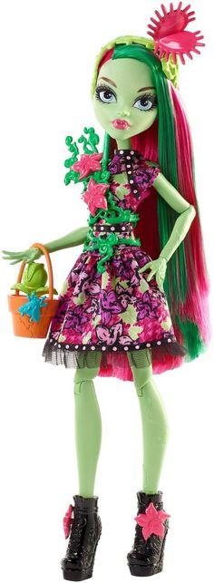 Mattel Monster High FDF14 - Partymode Monsterfreundin Venus Puppe, Ankleidepuppen-Zubehör: Amazon.de: Spielzeug