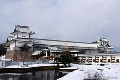 Japanese castles I've visited: #40 Kanazawa Castle in Ishikawa Prefecture. As you can see I visited in winter. Next to the castle is Kenrokuen Garden - one of the 3 most beautiful Japanese gardens.