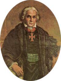 José Bonifácio - - -Antes de dejar el país, el emperador seleccionó a tres personas para que cuidaran de su hijo y de las hijas que permanecieron en el país. La primera persona escogida fue José Bonifácio, amigo y líder influyente durante la independencia brasileña, que fue nombrado tutor.
