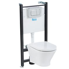 Zestaw podtynkowy ROCA NEXO RIMLESS - 1350 PLN Leroy Merlin, Bathroom, Ranch, Ideas, Washroom, Guest Ranch, Full Bath, Bath, Thoughts