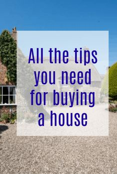 All the tips you need for buying a house and helping you get your property buying right. Real estate advice with great money-saving tips Life On A Budget, Family Budget, Moving Home, Moving Tips, Beautiful Space, Beautiful Homes, Buying A New Home, Finding A House, Home Hacks