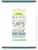 Very cute birthday part invites (boy & neutral): Minted.com