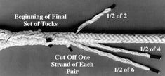12 Strand Tuck Eye Splice