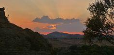 Sonnenuntergang in Isalo