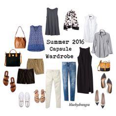 Summer 2016 Capsule Wardrobe by bluehydrangea