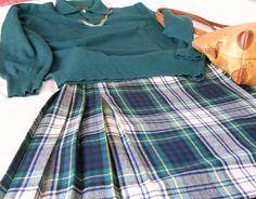 Kilt vintage originale scozzese anni 70 di cosediisa su Etsy, €35.00
