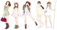 anime style fashion