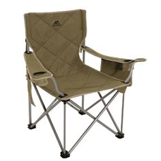 The VIP Tall Directors Chair By Earth Products. The King Kong Camping Chair  By Alps Mountaineering