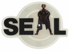 For Sale - Seal Violet UK  shaped picture disc (picture disc vinyl record) - See this and 250,000 other rare & vintage vinyl records, singles, LPs & CDs at http://eil.com