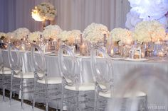 """A Classic White Wedding With Modern Touches 