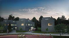 FINN – Populære Furumo ! 80 % av boligene er solgt. Fortsatt muligheter for deg som ønsker en fremtidsrettet og moderne bolig på Furumo. Funkis eneboliger med flotte takterrasser (kun1 stk igjen) - Romslige 6-roms rekkehus og praktiske 4-roms rekkehus Real Estate, Mansions, House Styles, Home Decor, Rome, Real Estates, Decoration Home, Room Decor, Villas
