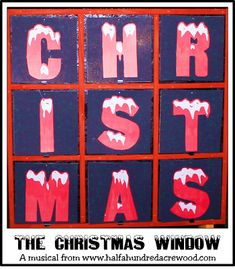 The Christmas Window, a Christmas Musical - Half a Hundred Acre Wood