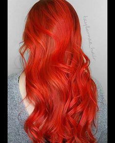 100 Badass Red Hair Colors: Auburn, Cherry, Copper, Burgundy Hair Shades - All For Hair Color Trending Hair Color Auburn, Hair Color Blue, Auburn Hair, Hair Colors, Color Red, Auburn Red, Color Shades, Cherry Red Hair, Strawberry Blonde Hair