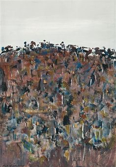 View artworks for sale by Williams, Fred Fred Williams Australian). Browse upcoming auctions and create alerts for artworks you are interested in. Filter by auction house, media and more. Australian Painting, Australian Artists, Abstract Landscape, Landscape Paintings, Landscapes, Fred Williams, Landscaping Around Trees, Painting Process, 2d Art