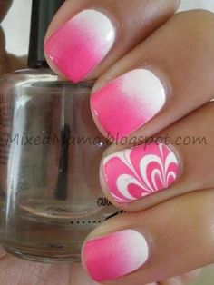MixedMama: Gradients and Water Marble Together...that's such a cool idea!