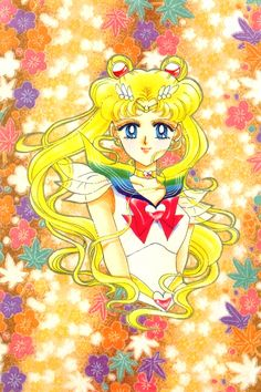 /Sailor Moon (Character)/#1616697 - Zerochan //I'm sure I've pinned this before but I adore her hair SO much!
