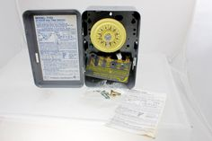 Intermatic T103 120-Volt DPST 24 Hour Mechanical Time Switch  #Intermatic