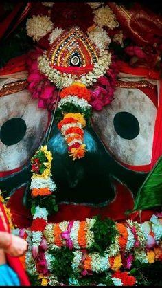 Jay Jagannath Lord Jagannath, Jay, Wreaths, Halloween, Home Decor, Homemade Home Decor, Door Wreaths, Deco Mesh Wreaths, Garlands