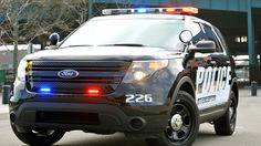 View detailed pictures that accompany our Ford Police Interceptor Sedan and Utility article with close-up photos of exterior and interior features. Ford Police, Close Up Photos, Photo Galleries, Vehicles, Car, Image, Overhead Press, Goal, Life