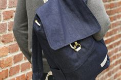 Stone + Cloth Benson Backpack. This company provides scholarships to children in Africa. We love this company!