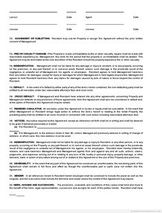 Free Commercial Property Lease Agreement Tenant Termination Lease Agreement Rental Letter Free Word Pdf .